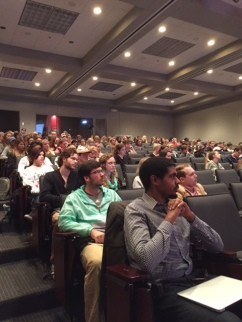 A great turnout of students, faculty and journalists for the Ole Miss Google News Lab training. (Reilley photo)
