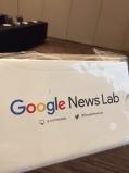 Google Cardboards were given away as door prizes at SPJ JournCamp in Las Vegas.